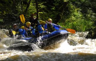 Rafting chalaux