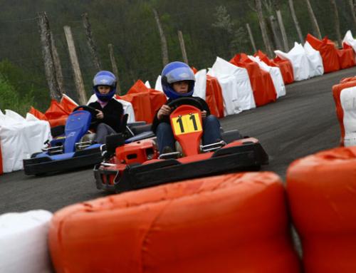 Karting dans l'Yonne